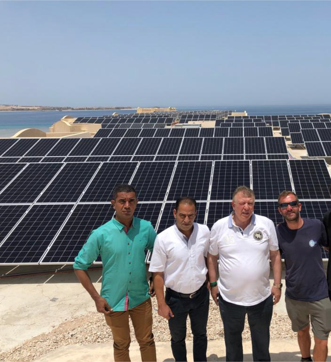 Clean Power Solutions - Tropitel Hotel Hurghada Egypt Solar Energy